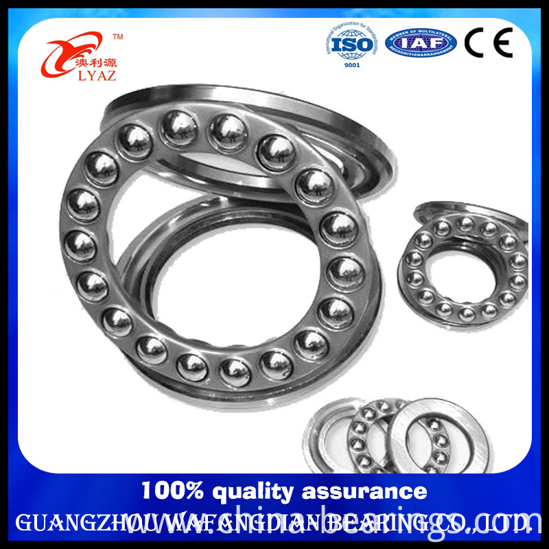 Carbon Steel Stainless Steel Thrust Structure and Ball Type Thrust Ball Bearing Bearing 51101 Ss51101