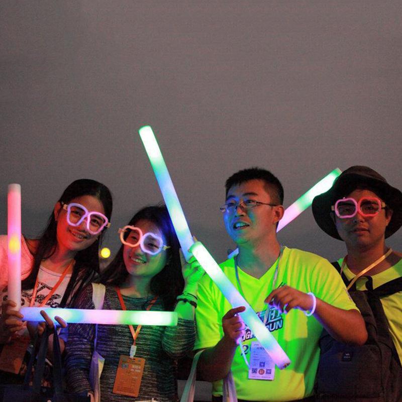 LED Foam Flashing Light Sticks Supplier