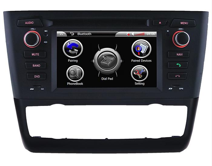Android 5.1 Car DVD for BMW 1 E81 E82 E88 Radio Navigatior 3G Internet or WiFi Connection