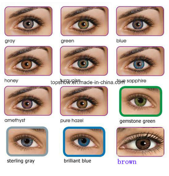 3 Tone Lentes De Contacto Colored Al Por Mayor Wholesale Contact Lenses for Cosmetic