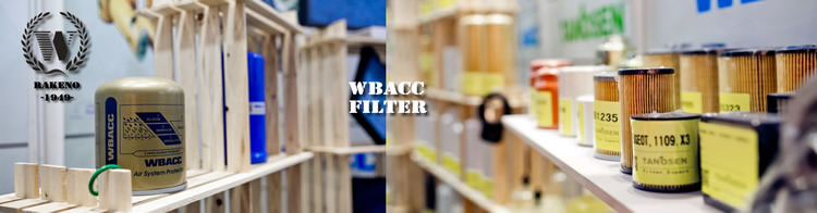 Wbacc 580r Spare Parts Spin-on Water Separator Fuel Filter R90t