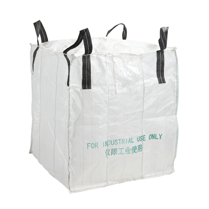 Black Loops FIBC Bulk Bags for Packing Pet Chips