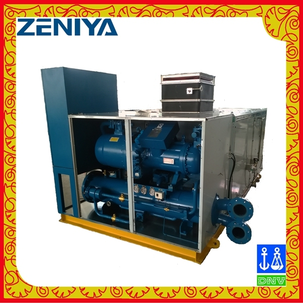 Water Cooled Packaged Air Conditioner for Commercial and Marine