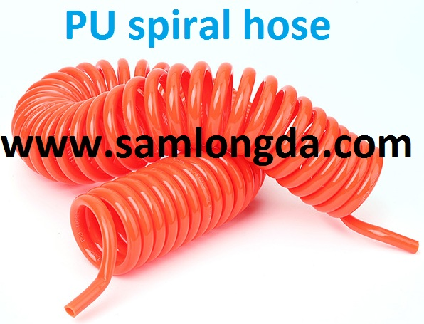 Air Hose / PU Coil Tube with 1/4