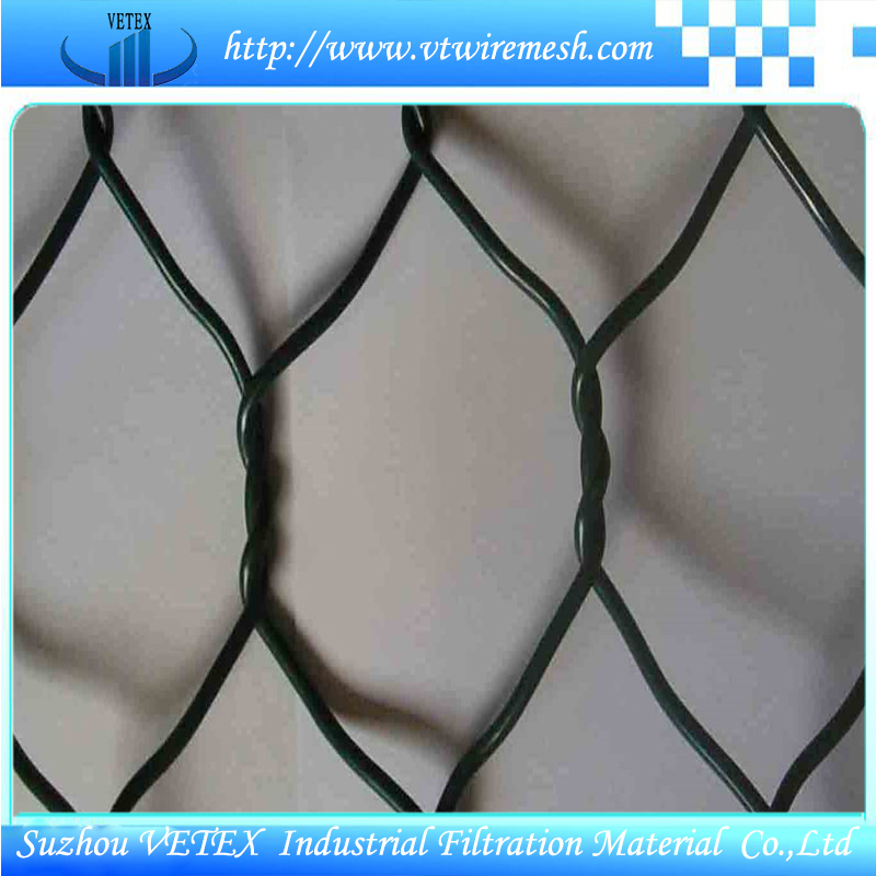 Gabion Wire Mesh Used to Strengthen Structure of Soil