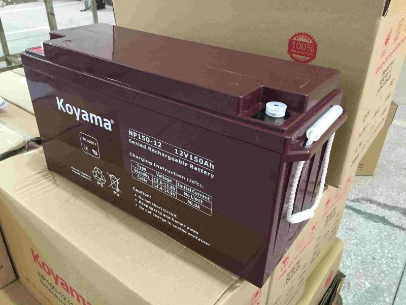 AGM Long Life 12V 150ah AGM Battery for Solar Street Light System