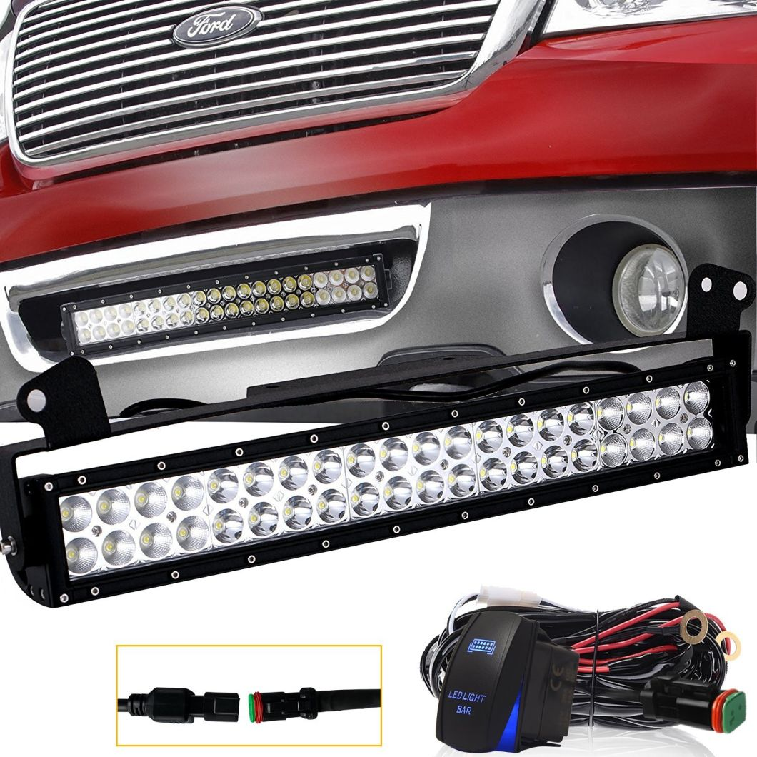 22 Inch 120W Straight LED Light Bar with Best Price