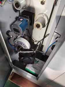 Rotary die cutting machine detail
