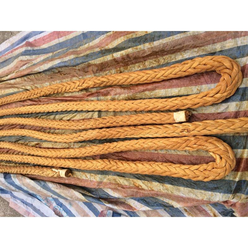 12- Strad Yellow Manila Rope Polymer Marine Cable Mooring Rope