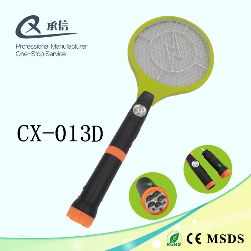 Rechargeable Anti Mosquito Trap Killer Swatter Bat, Eco-Friendly Insect Zapper with LED&Torch