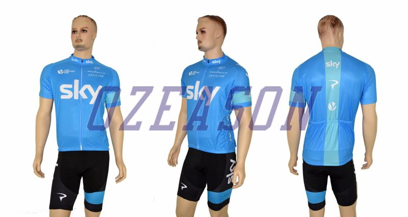 2017 Custom Made Men's Breathable Stretchable Slim Fit Cycling Jersey