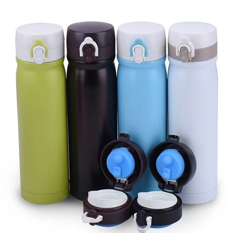 500ml Double Wall Stainless Steel Vacuum Flask (SH-VC05)