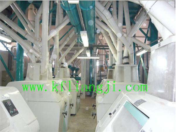 Wheat Flour Milling Plant and Corn Flour Mill Machine