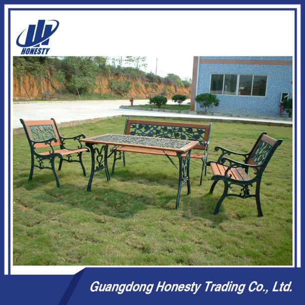 Pb-005 Hot Sell Outdoor Furniture, Garden Furniture, Table Bench for Park