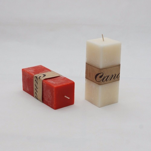 Colorfu Pillar Candle