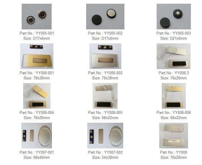 Wholesale Magnets Custom Badge Maker Magnetic Pin Magnet Badges