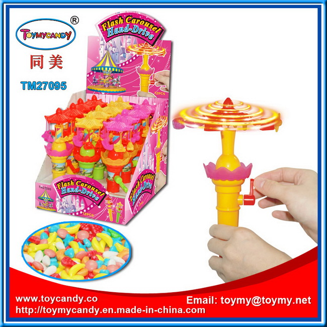Flash Funny Toy with Sweet Candy Tub
