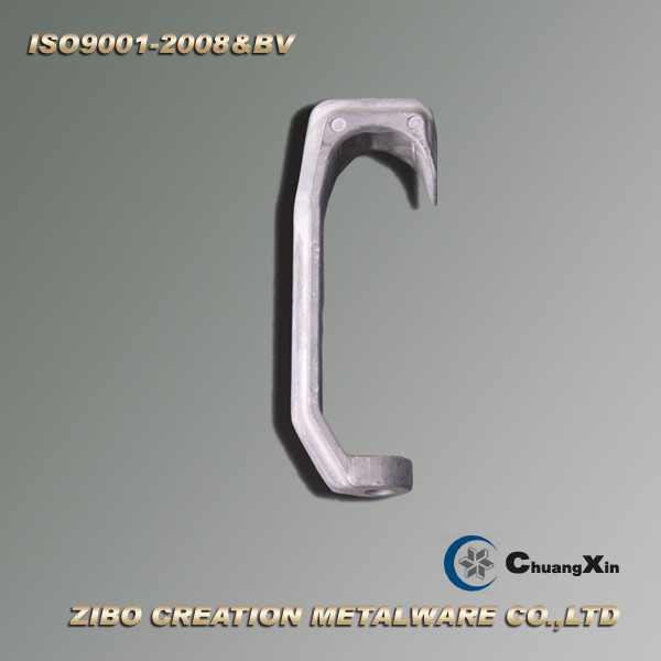 Aluminum Casting Red Meat Hook for Slaughter Equipment
