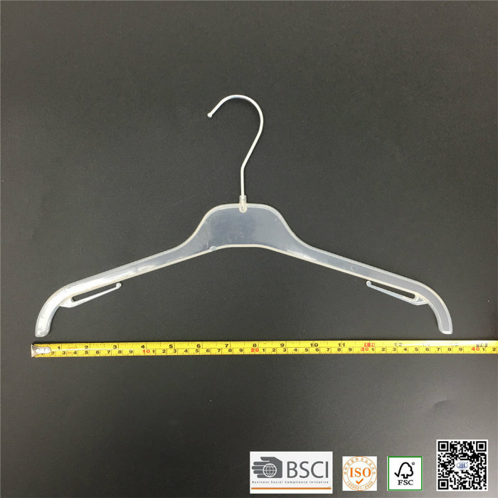 Simple Basic Plastic Teens Clothes Shirt Hanger