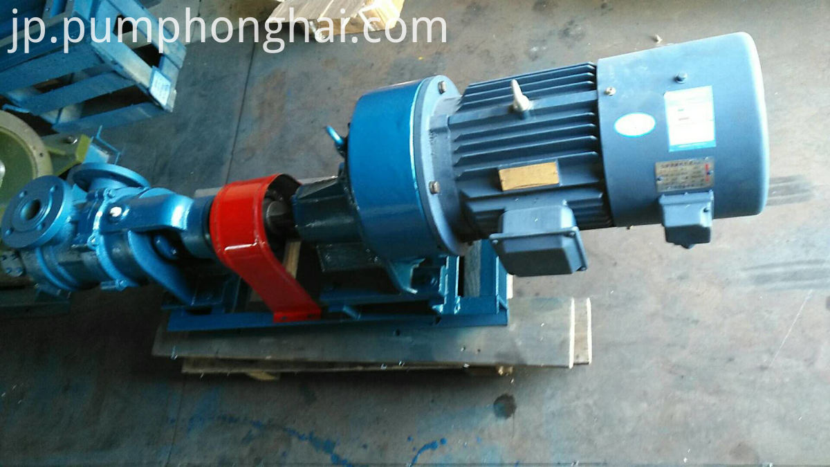 Cast iron NYP series high viscosity gear pump