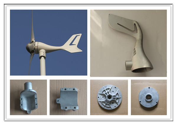 Cast Aluminum Parts Die Casting Cover for Wind Turbine