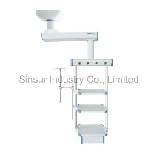 Ce/ISO ICU Surgical Rotary Ceiling Arm Gas Ceiling Medical Pendant