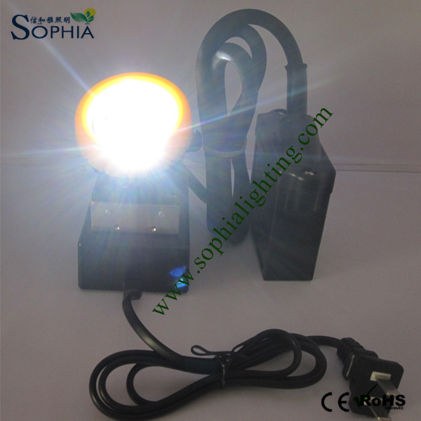 3W CREE LED Mining Head Lamp, Head Light, Safety Cap Lamp