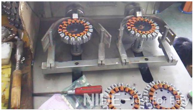 Ceiling Fan External Armature Stator Coil Winding Machine