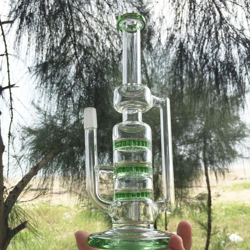 Permeating Moonglade Design Hookah Glass Smoking Water Pipes (ES-GB-291)