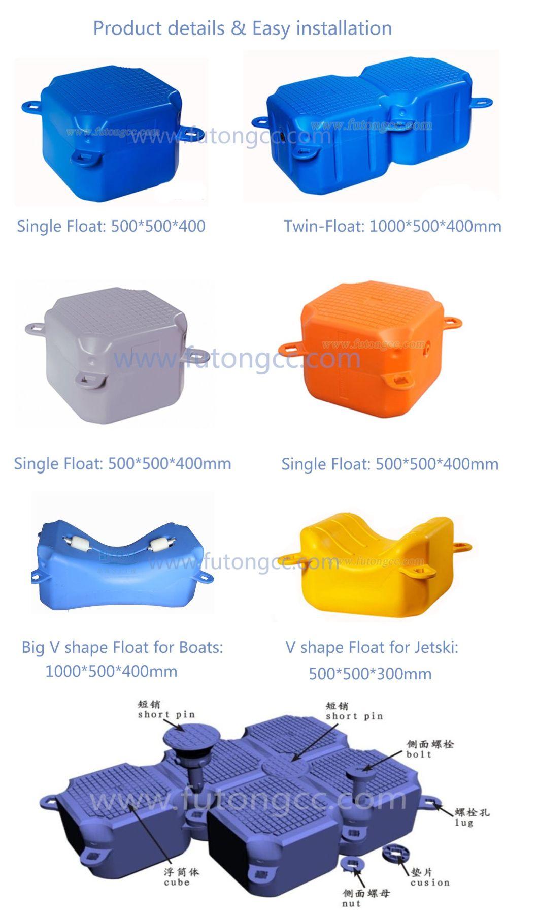 Plastic Modulos Flutuantes