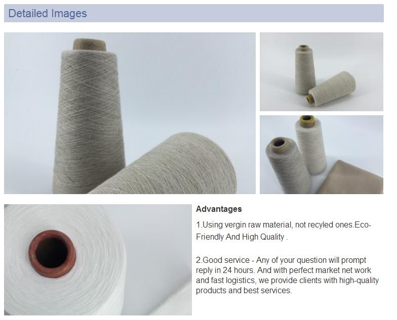 100% Flax Fiber Linen Yarn for Weaving and Knitting