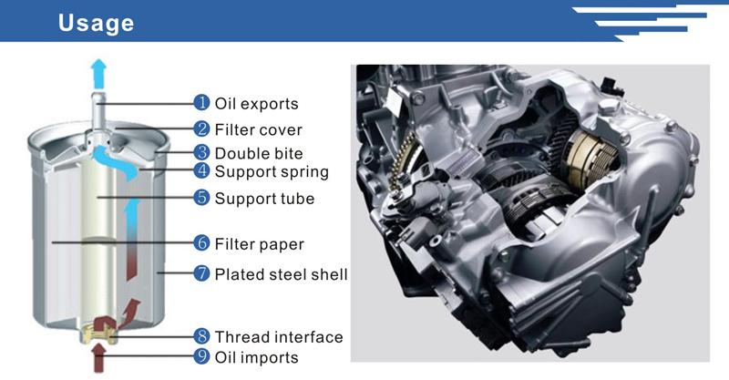 SGS Supplier Car Parts Aluminum Fuel Filter Housing