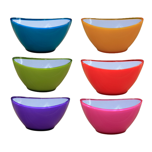 BSCI Audit Doulbe Injection Plastic Salad Bowl