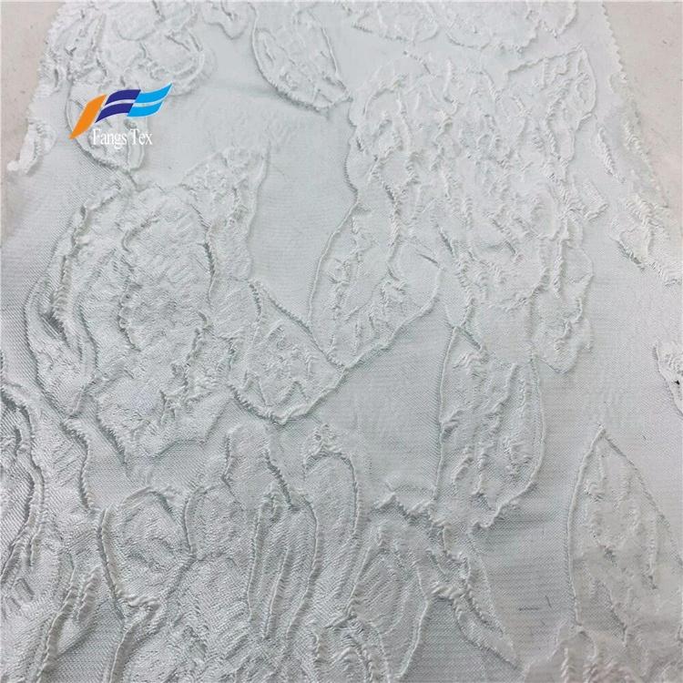 Floral Brocade Metallic Wedding Dress Jacquard Fabric 2