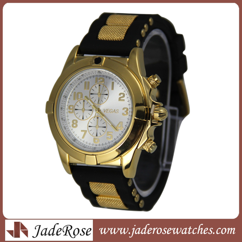 Cool Quartz Sport Style Silicone Watch