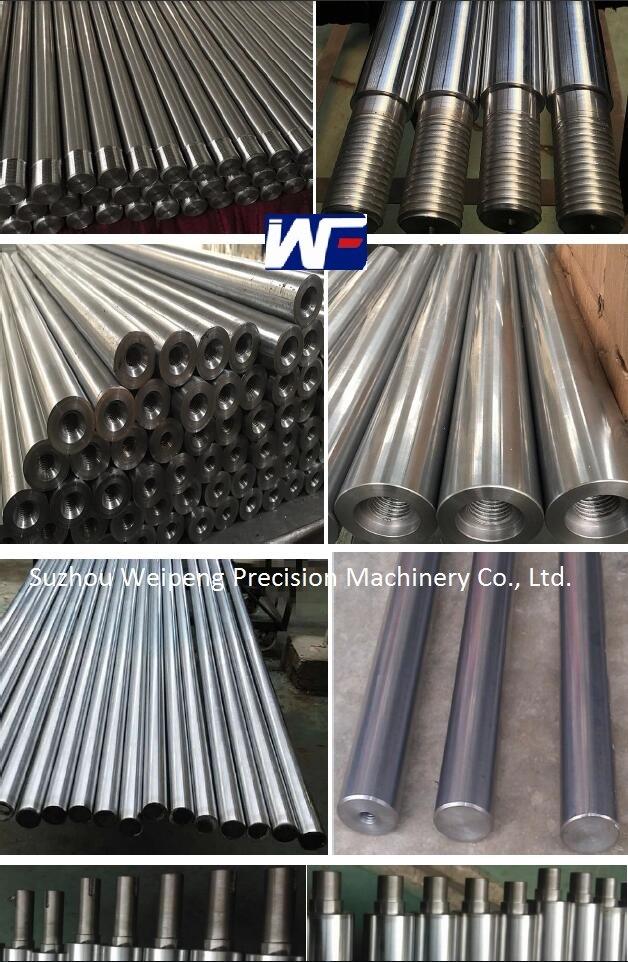 Hydraulic Cylinder Hard Chrome Plated Piston Rod Ck45