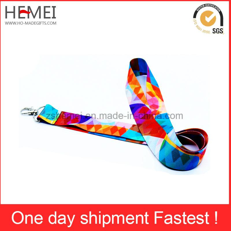 Custom Lanyard Silk Screen Printing Tube Polyester Lanyard