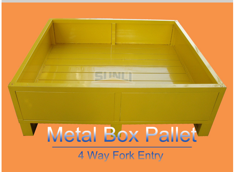 1t 2 Way Entry Single Face Storage Steel Pallet