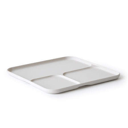 Eco Bamboo Fiber Divided Tray (BC-T1001)