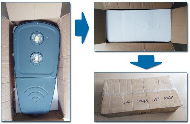 Hot Sale Outdoor 90W LED Streetlight Waterproof Aluminum LED Street Lighting 5-Year Warranty