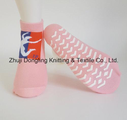 Customized Anti Slip Trampoline Socks Yoga Socks Factory Low Price