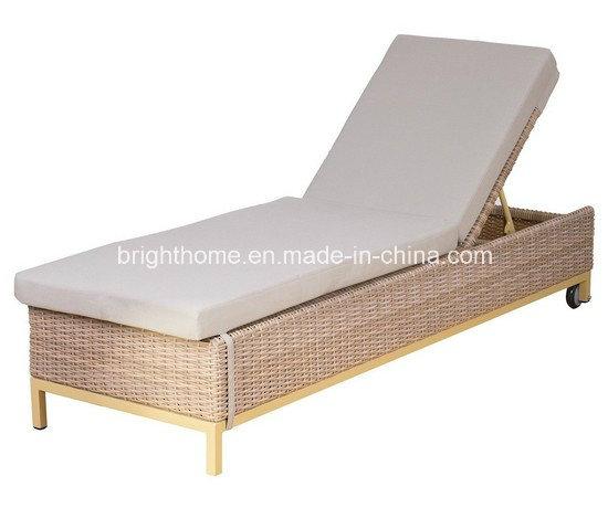 Outdoor Furniture Modern Rattan Garden Wicker Lounge (BM-573)