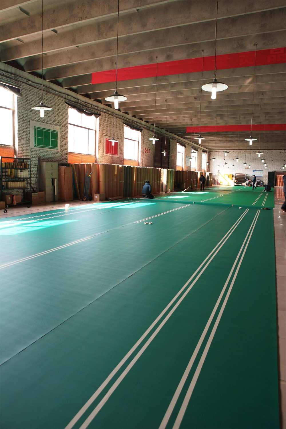Badminton Court Floor Project