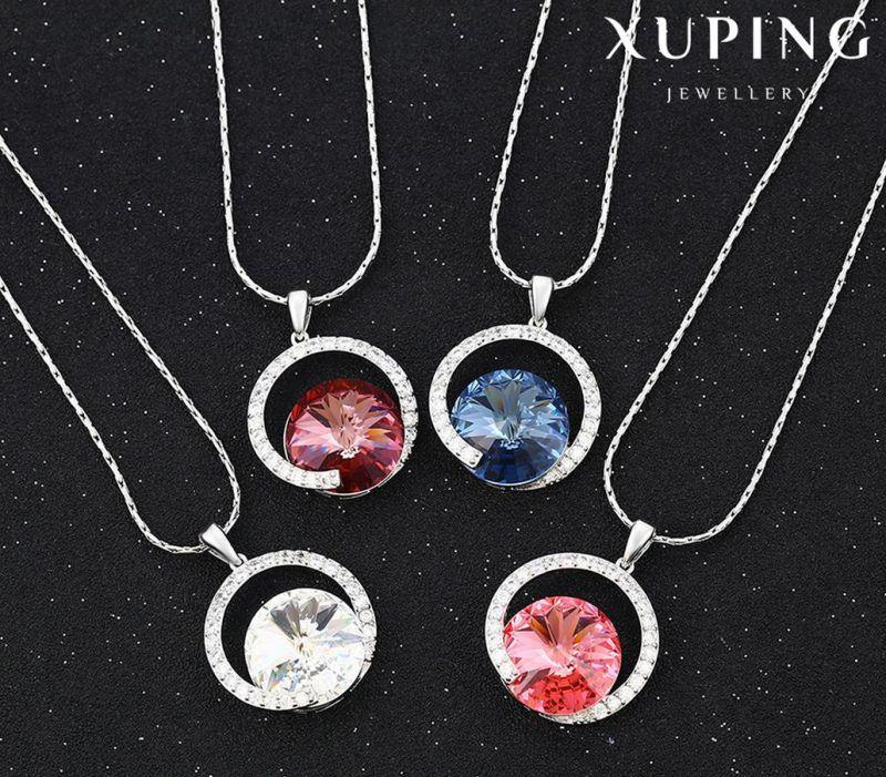 43216 Newest Charm Crystals From Swarovski Jewelry Pendant Necklce