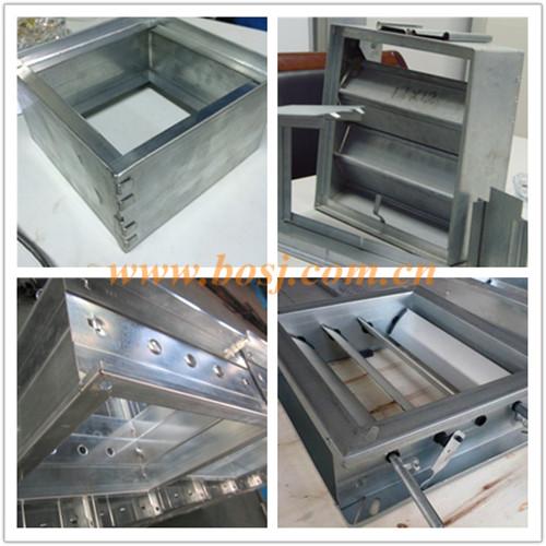 Volume Control Damper/ Motorized Control Damper/ Mvcd Roll Forming Making Machine Thailand