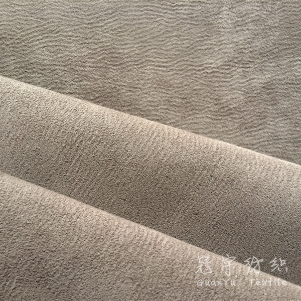 Polyester Synthetic Leather Fabric for Sofa