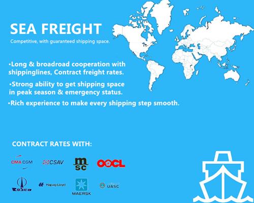 Guangzhou Cheap Sea Freight to Mexico City