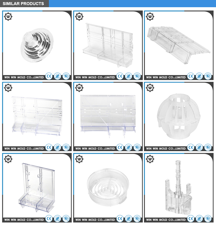 Hot Runner Plastic Injection Container Mould for Household Appliances