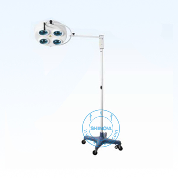 Veterinary Cold Light Operating Lamp (on stand) (LP01-4)