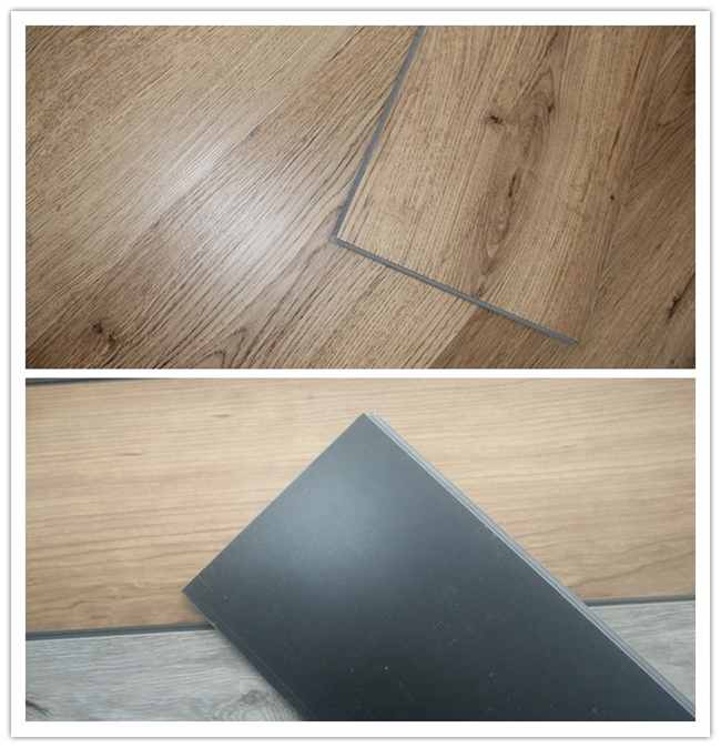 Cheap Price of Popular Commerical PVC Click System Vinyl Flooring